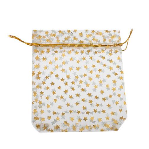 Stars Organza Drawstring Bags Sets
