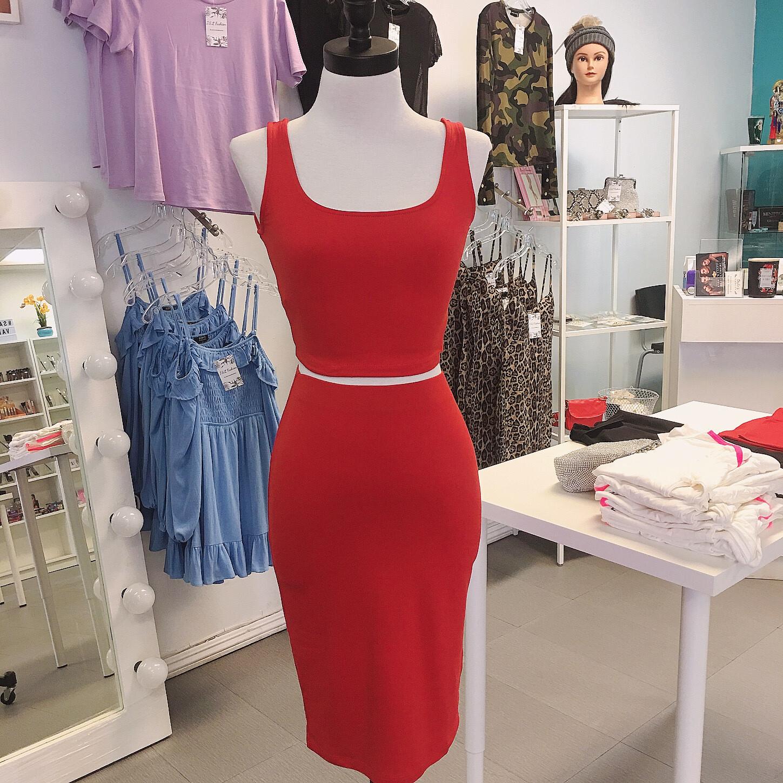 Bodycon Skirt set