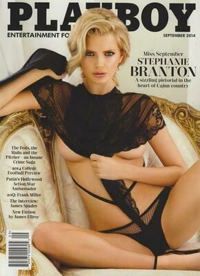 Playboy Magazine Back Issue September 2014