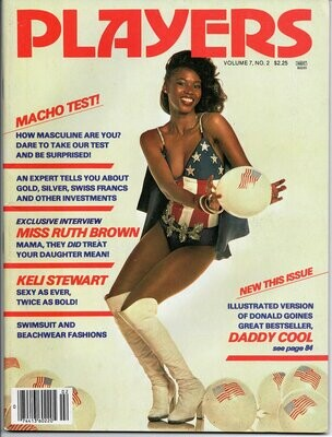 Players Magazine V7N2 July 1980 Keli Stewart