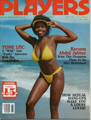 Players Magazine Tone Loc vol.16 #8 1990 Keli Stewart