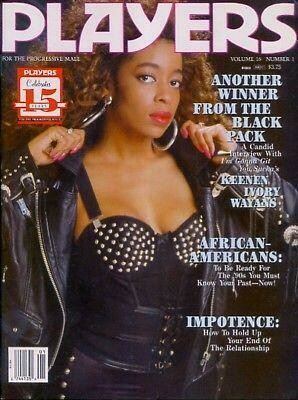 Players Magazine V16N1 June 1989 Beautiful Ebony Women