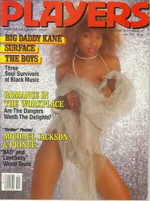Players Men's Magazine Big Daddy Kane vol.15 #12 May 1989