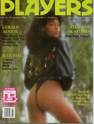 Players Adult Magazine V16N7 Decenber 1989