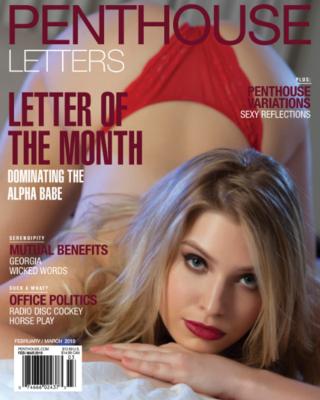 Penthouse Letters Adult Magazine Feb/Mar 2019