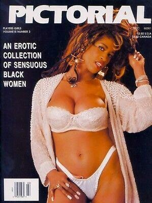 Players PICTORIAL Black Adult Magazine V15N3