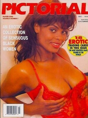 Players PICTORIAL Black Adult Magazine V15N7