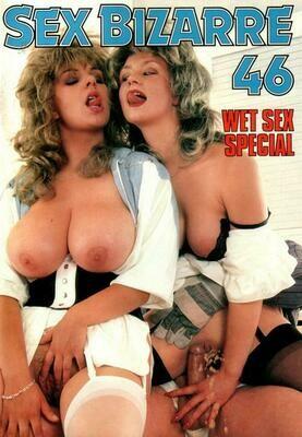 Vintage Porn Wet Sex Magazine SEX BIZARRE 46 Solange LE CARRIO XXX -PDF