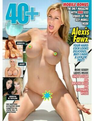 40+ Adult Magazine #06 2019 ALEXIS FAWX -PDF
