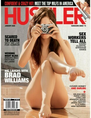 Hustler Magazine January 2020 -PDF