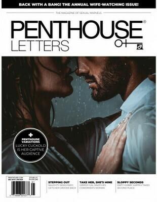Penthouse Letters Adult Magazine Dec/Jan 2020
