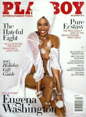 Playboy Magazine December 2015 Eugena Washington