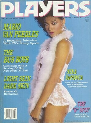 Players Adult Magazine Vol 15 #4 September 1988