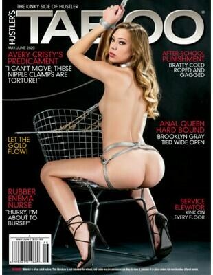 Hustler's Taboo Magazine May/June 2020 -PDF