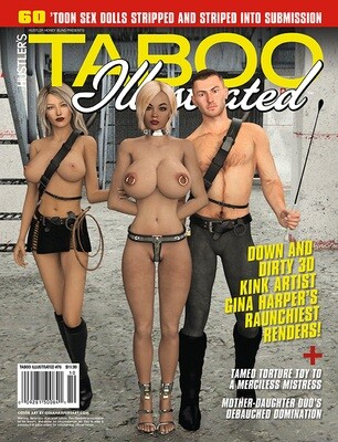 Hustler's TABOO ILLUSTRATED Issue #76  2019