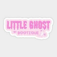 Little Ghost Bootique Vinyl Sticker