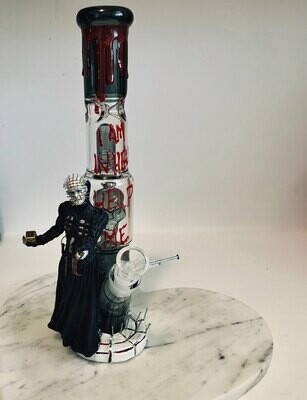Hellraiser Water Pipe Art