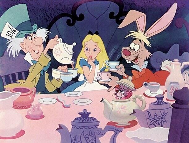 Alice In Wonderland Retainer For Cassandra