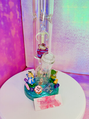 Alice In Wonderland Water Pipe Art