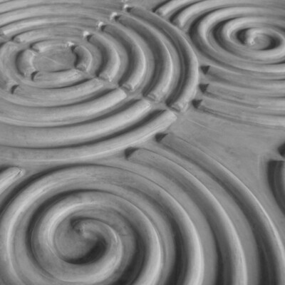 Sequence 3D X2 Swirl - Concrete Wall Panel