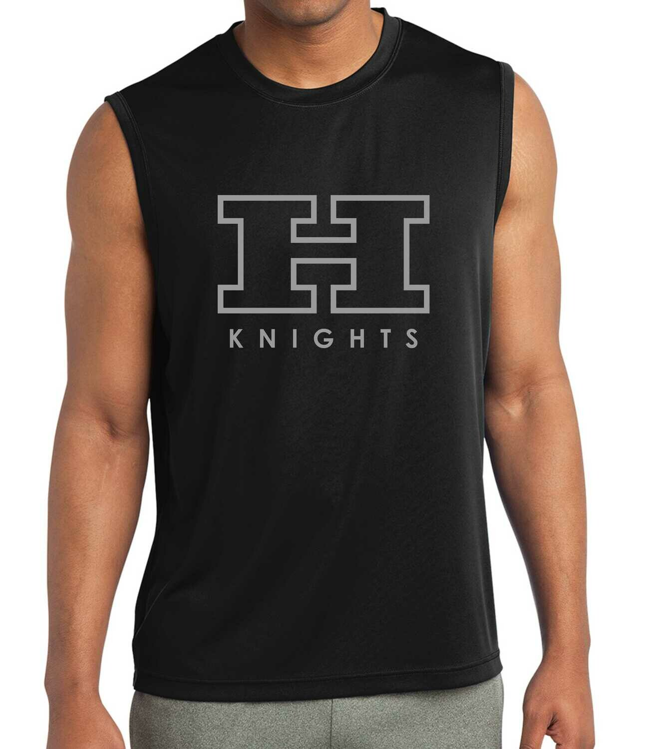 Hanks Knights 100% poly Muscle tank
