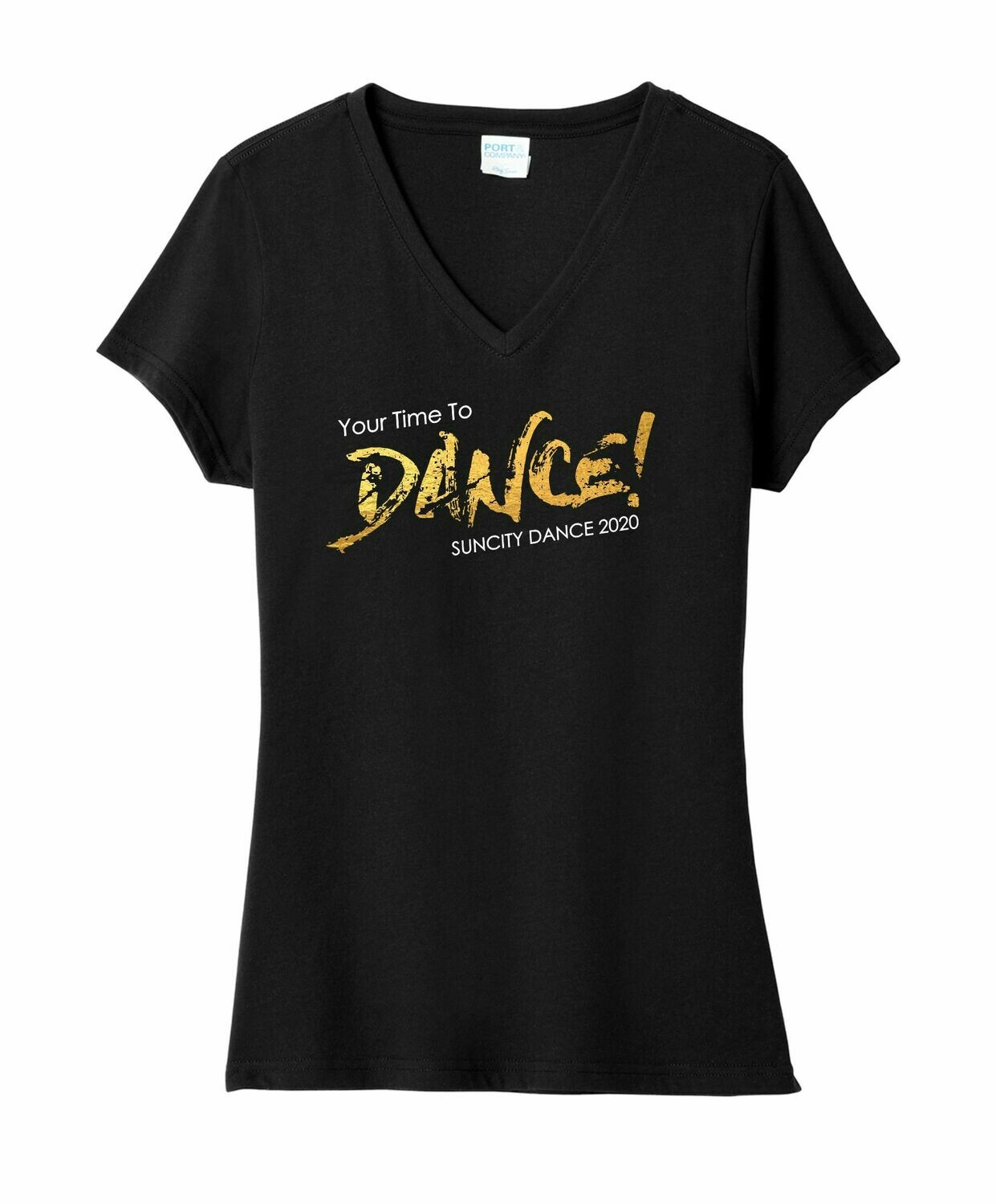 Your Time to Dance! Ladies V-Neck