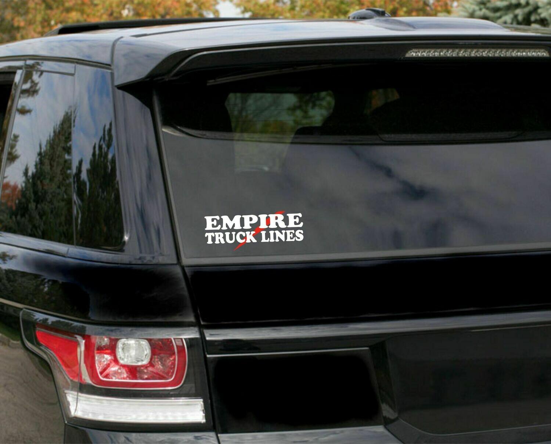 Empire Trucking Car Decal