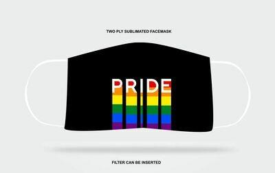 Pride Drip Mask