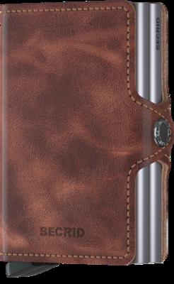 Secrid Twinwallet in Vintage Brown