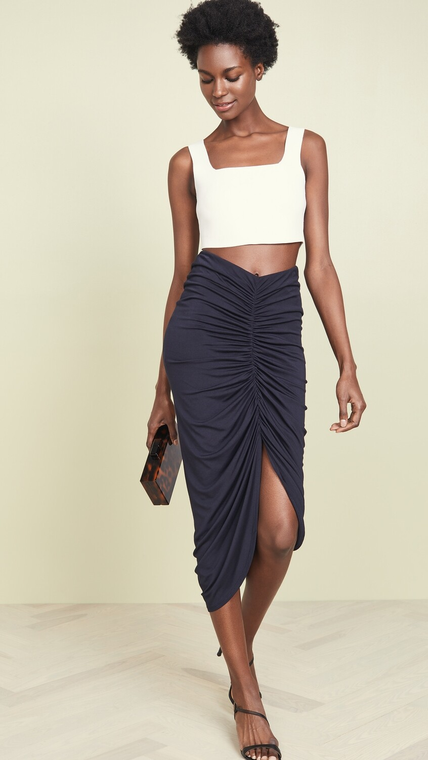 Bailey 44 Santorini Midi Skirt in Midnight