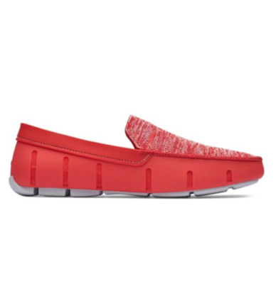Swims Classic Venetian Loafers in Red