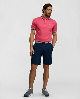 Psycho Bunny Mens Sport Lumley Polo - Hot Pink