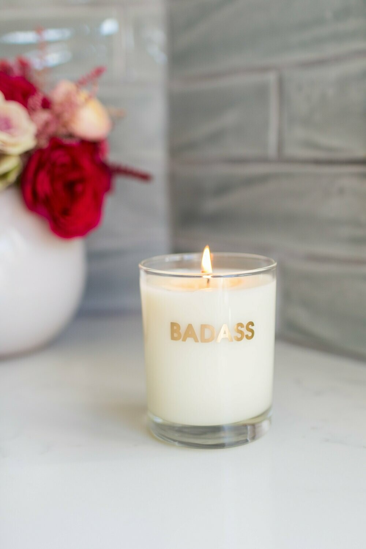Chez Gagné Badass candle