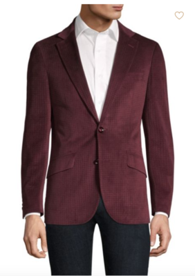 Robert Graham Classic-Fit Wilkes Illusion Houndstooth Single-Breasted Jacket