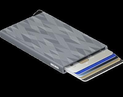 Secrid Cardprotector in Laser Zigzag Titanium