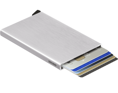 Secrid Cardprotector in Brushed Silver