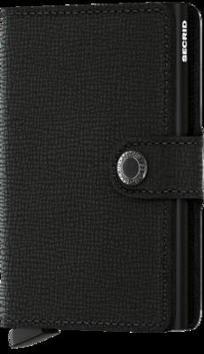 Secrid Miniwallet in Crisple Black