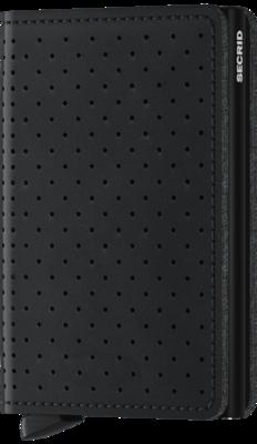Secrid Slimwallet in Perforated Black