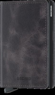 Secrid Slimwallet in Vintage Grey-Black