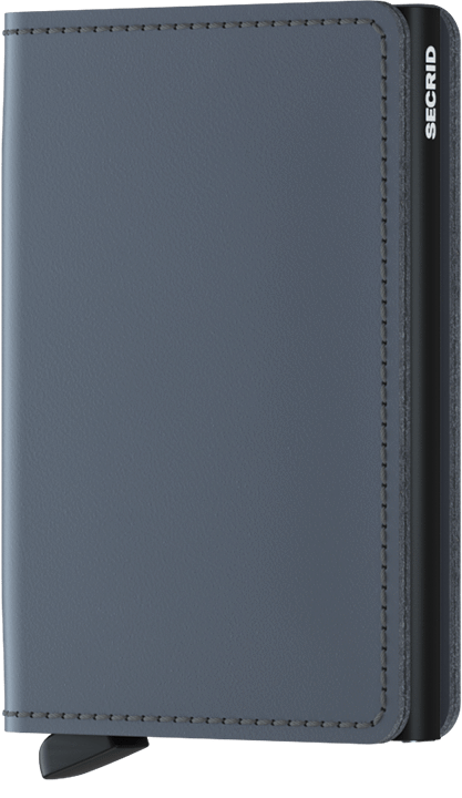 Secrid Slimwallet in Matte Grey-Black