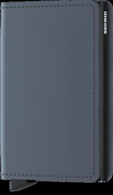 Secrid Slimwallet in Matte Grey-Black