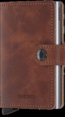 Secrid Miniwallet in Vintage Brown