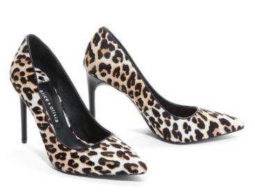 Alice & Olivia Creda Leopard Heels