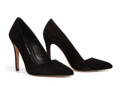 Alice & Olivia Dina Heel in Black