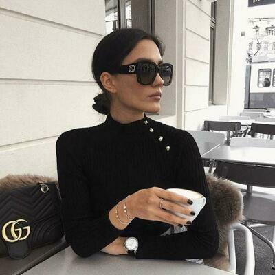 Gucci Women's Oversized Square Optyl Sunglasses
