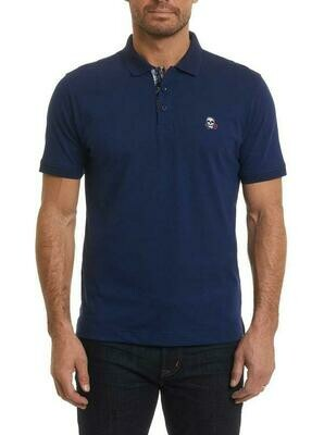 Robert Graham Easton Polo Shirt In Navy