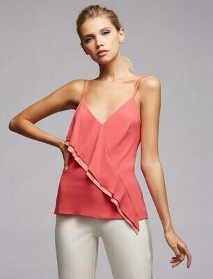 Bailey 44 Laurel Solid Cami In Peony/Peachy