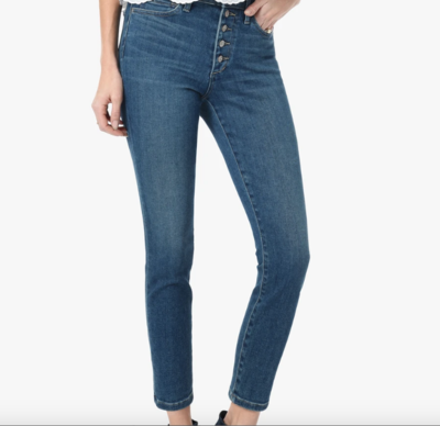 Joe's Jeans Charlie High Rise Skinny Crop in Nessa