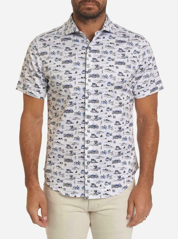 Robert Graham Throttle Short Sleeve Shirt