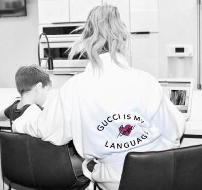 LA Trading Co LUXE PLUSH ROBE - Dior Is My Language